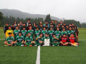 [スポーツ医科学サポート]高校女子サッカー選手権県大会7連覇達成!