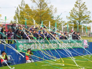 【トレーナー派遣事業】専大北上女子サッカー部 4年連続4回目全国大会出場決定!