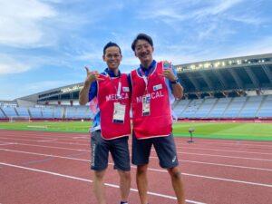 【東京オリンピック2020】メディカルスタッフに選出!